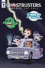 Image: Ghostbusters: Answer the Call #4 (cover B - Funko Branesky) - IDW Publishing