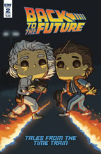 Image: Back to the Future: Time Train #2 (cover B - Funko Wolfe) - IDW Publishing