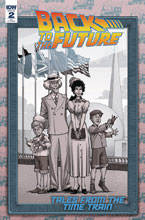 Image: Back to the Future: Tales From the Time Train #2 (incentive cover - Alan Robinson) (10-copy) - IDW Publishing