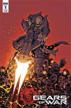 Image: Gears of War: Rise of Raam #1 (cover B - Dunbar) - IDW Publishing
