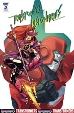 Image: Transformers vs. Visionaries #2 (cover B - Murphy) - IDW Publishing