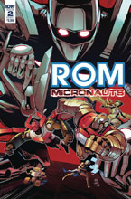 Image: Rom & the Micronauts #2 (cover A - Samu) - IDW Publishing