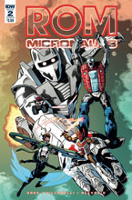 Image: Rom & the Micronauts #2 (cover B - Gallant)  [2018] - IDW Publishing