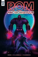 Image: Rom & the Micronauts #2 (incentive cover - Jeffrey Veregge) (10-copy) - IDW Publishing
