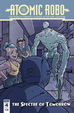 Image: Atomic Robo: Spectre of Tomorrow #4 (cover A - Wegener) - IDW Publishing