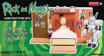 Image: Rick & Morty Snowball Med Construction Set Case  - Tmp Toys / Mcfarlane's Toys