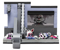 Image: Five Nights at Freddys 3 Scooping Room Const Set Case  - Tmp Toys / Mcfarlane's Toys