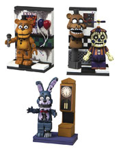 Image: Five Nights at Freddys 3 Micro Const Set Assortment  - Tmp Toys / Mcfarlane's Toys