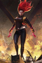 Image: Phoenix Resurrection: Return of Jean Grey #5 (Legacy) (variant Jean Grey cover - Lee) - Marvel Comics