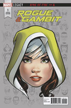 Image: Rogue & Gambit #1 (Legacy) (variant Legacy Headshot cover - McKone) - Marvel Comics