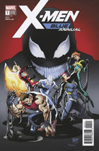 Image: X-Men: Blue Annual #1 (variant cover - Ferry) - Marvel Comics