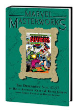 Image: Marvel Masterworks Defenders Vol. 06 HC  (DM variant cover) (260) - Marvel Comics