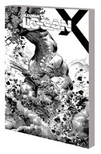 Image: Wolverine: Old Man Logan Vol. 06 - Days of Anger SC  (DM variant B&W cover) - Marvel Comics