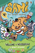 Image: Sami Samurai Squirrel: Welcome to Woodbriar GN  - Action Lab Entertainment