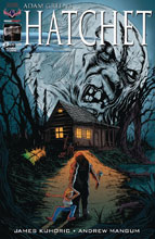 Image: Hatchet #3 (Swamp Terror cover)  [2018] - American Mythology Productions
