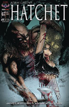 Image: Hatchet #3 (Cut in Two cover)  [2018] - American Mythology Productions