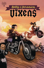 Image: Betty and Veronica Vixens #3 (cover A - Eva Cabrera) - Archie Comic Publications