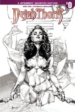 Image: Dejah Thoris Vol. 02 #0 (cover B incentive - Anacleto B&W) (25-copy) - Dynamite