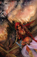 Image: Dejah Thoris Trading Cards Preview Set  - Dynamite