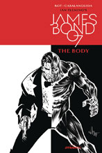 Image: James Bond: The Body #1 (cover B incentive - B&W) (10-copy)  [2018] - Dynamite
