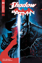 Image: The Shadow / Batman #4 (cover B - Tan) - Dynamite