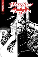 Image: Shadow / Batman #4 (cover F incentive - Tan) (10-copy) - Dynamite