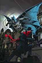 Image: Shadow / Batman #4 (cover G incentive - Nowlan) (20-copy) - Dynamite