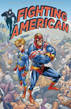 Image: Fighting American #4 (cover A - De La Fuente) - Titan Comics