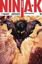 Image: Ninja-K #3 (cover A - Hairsine) - Valiant Entertainment LLC