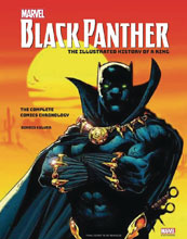 Image: Marvels Black Panther Illustrated History of a King HC  - Insight Editions