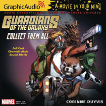 Image: Guardians of the Galaxy Audio CD: Collect Them All  - Graphic Audio/The Cutting Corp