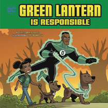 Image: Green Lantern is Responsible Picture Book  (Young Readers) - Capstone Press