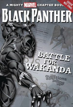 Image: Black Panther: Battle for Wakanda Chapter Book  (Young Adults) - Marvel Press