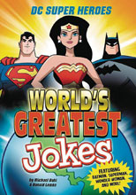 Image: DC Super Heroes: World's Greatest Jokes SC  - Capstone Press