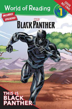 Image: World of Reading: Black Panther - This is Black Panther Level 1  - Marvel Press