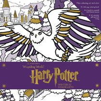 Image: Harry Potter Magical Coloring Set: Winter Hogwarts  - Candlewick Press