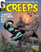 Image: The Creeps #13 - Warrant Publishing Company