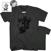 Image: Magic the Gathering T-Shirt: Liliana Vess [Black]  (M) - Mad Engine