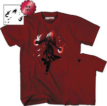 Image: Magic the Gathering T-Shirt: Chandra Nalaar [Red]  (M) - Mad Engine