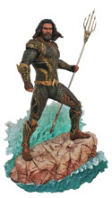 Image: JLA Movie Gallery PVC Figure: Aquaman  - Diamond Select Toys LLC