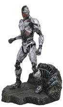 Image: JLA Movie Gallery PVC Figure: Cyborg  - Diamond Select Toys LLC