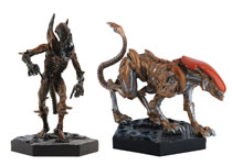 Image: Aliens Retro Figure Collectible #3 (Panther & Scorpion Set) - Eaglemoss Publications Ltd