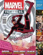Image: Marvel Fact Files #207 (Daredevil cover) - Eaglemoss Publications Ltd