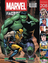 Image: Marvel Fact Files #208 (Hulk cover) - Eaglemoss Publications Ltd