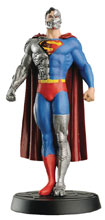 Image: DC Superhero Best of Figure Collectible Magazine #48 (Cyborg Superman) - Eaglemoss Publications Ltd