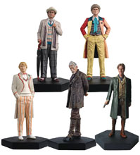 Image: Doctor Who Mid-Era Doctors Set  - Eaglemoss Publications Ltd
