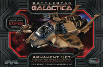 Image: Battlestar Galactica Raptor Armament Kit  (1/32 scale) - Moebius Inc