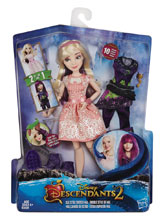 Image: Disney Descendants 2 Isle Style Switch Mal Doll Case  - Hasbro Toy Group