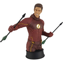 Image: Flash TV Polystone Bust: Flash Training  (w/Oliver) - Icon Heroes