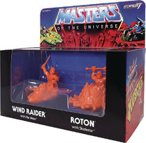 Image: Master of the Universe Muscle Figure 4-Pack  (Orange variant) - Super 7